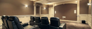 Orlando Home Theater with Stadium Seat